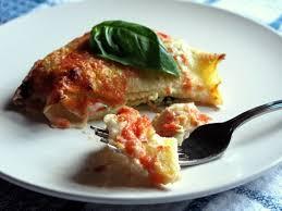 Crepes alla fiorentina con ricotta e spinaci