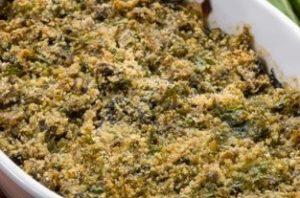 Coste di bietole gratinate al forno