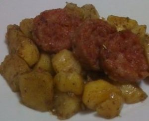 Cotechino e patate saltati in padella