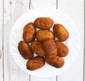 Crocchette di patate tonno e funghi
