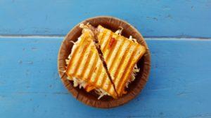 Toast in carrozza e Toast con zucchine