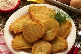 Finocchi fritti impanati in crosta
