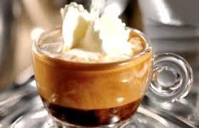 Mocaccino, Caffè al cioccolato e panna