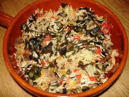 Minestra di riso alle verdure