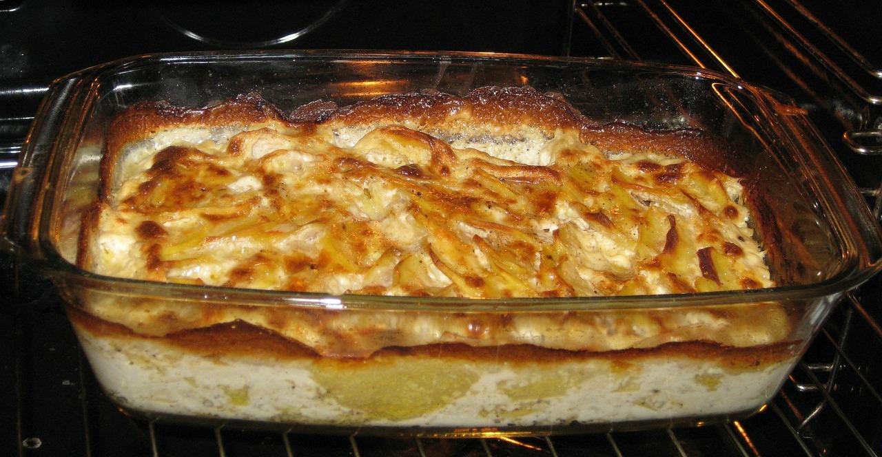 Patate al formaggio gratinate