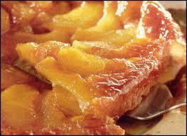 Torta di pere caramellate