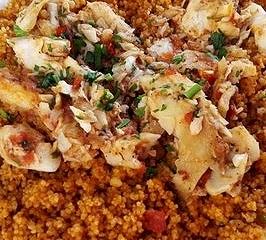 Da Trapani: couscous con zuppa di pesce