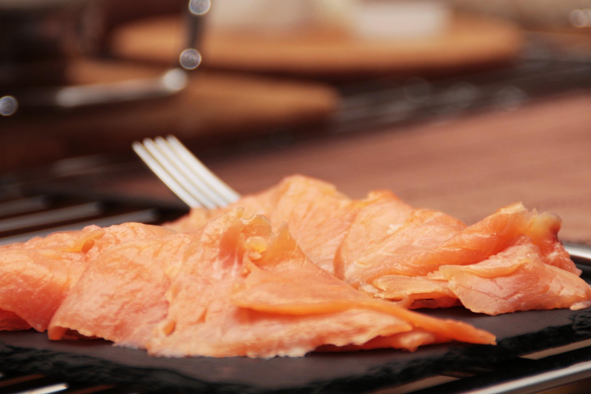 Risotto con salmone
