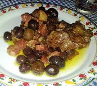 Spezzatino olive e tartufo nero