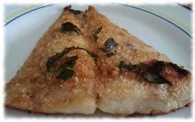 Persico in crosta di parmigiano