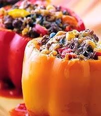 Peperoni farciti di frutta secca