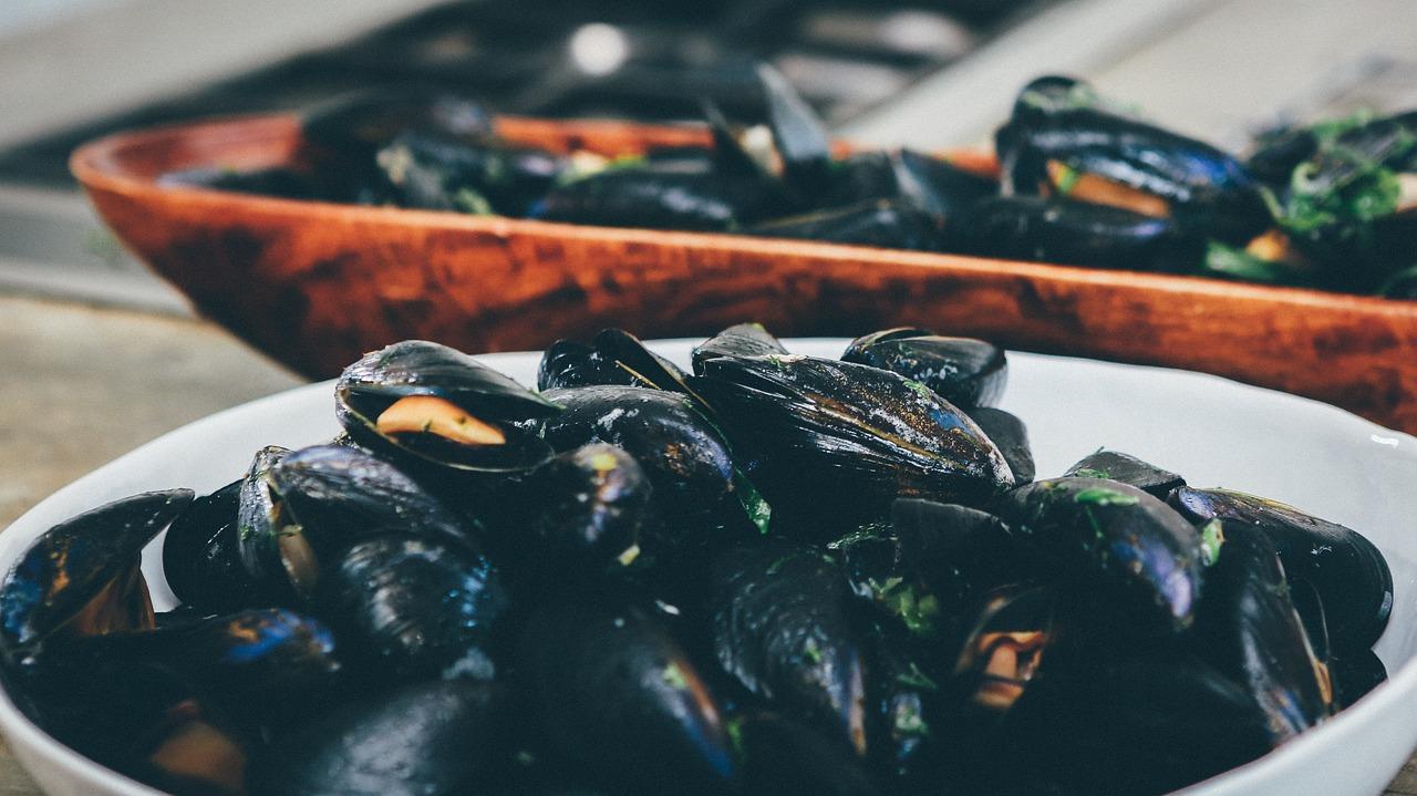 Insalata marinara cozze e peperoni