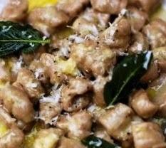 Gnocchetti di castagne