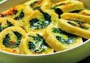 Rotolo di patate ripieno di spinaci