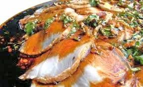 Filetto di maiale aromatizzato con speck e aceto balsamico