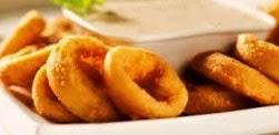 anelli di cipolle fritte