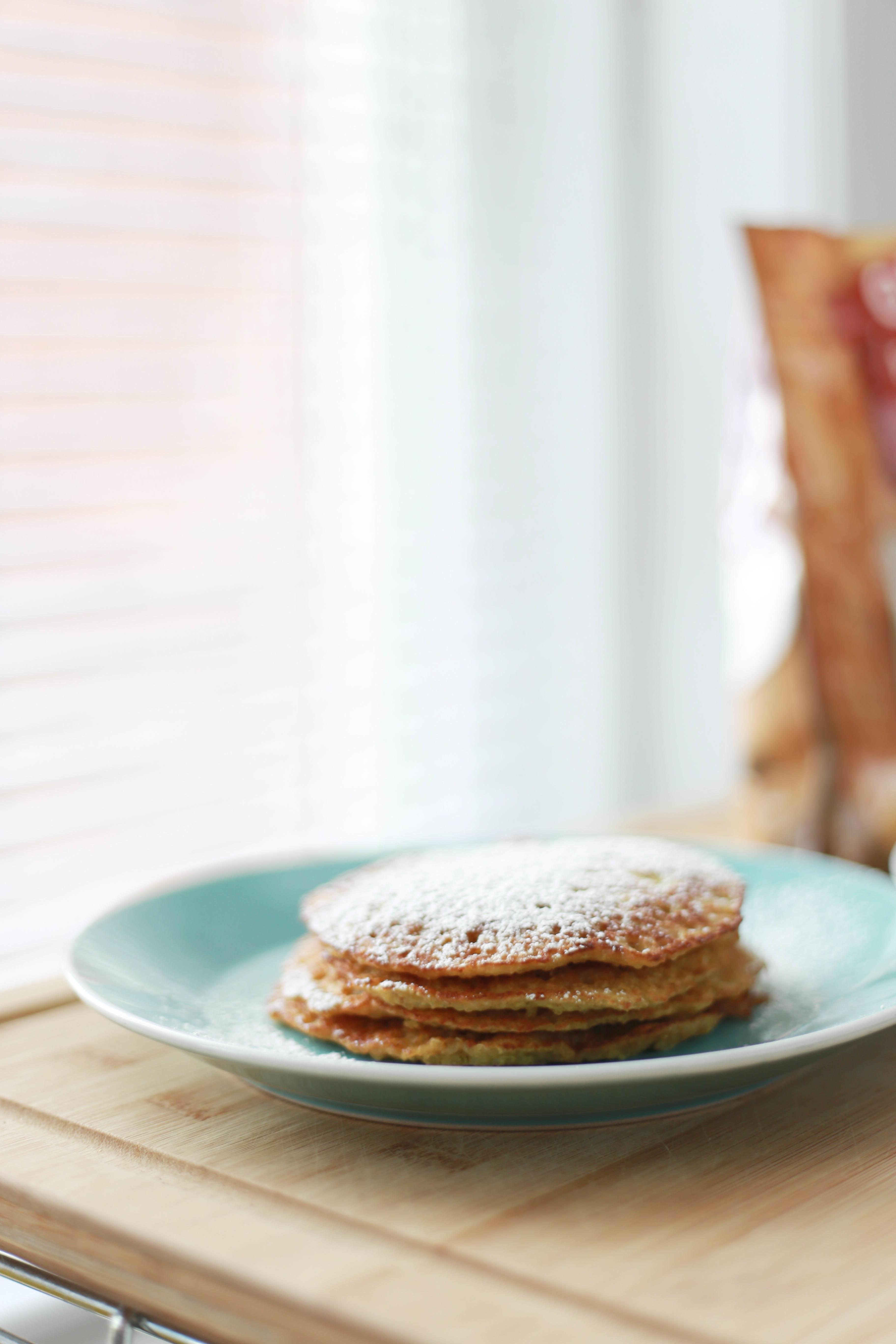 Pancake di mele e cannella