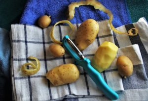 Merluzzo in crosta di patate
