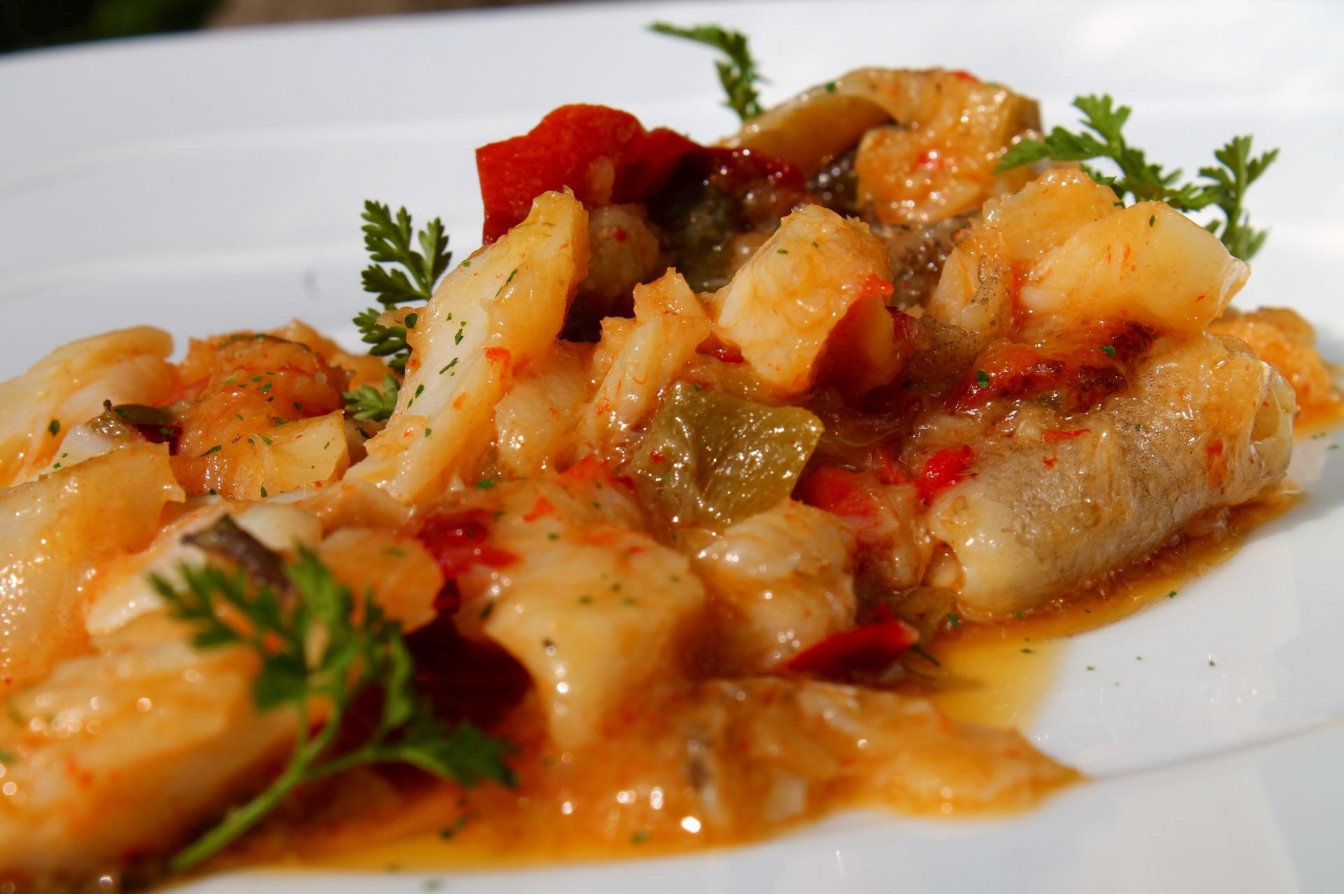 Zuppa di baccalà e peperoni molisana