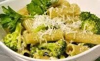Pasta Rigatoni con broccoli alla pugliese