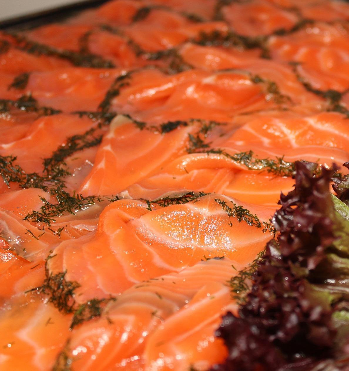 Risotto al salmone affumicato
