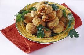 Polpettine di gamberi e patate