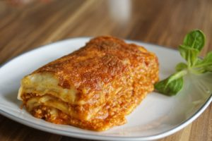 Lasagne leggere mozzarella e ricotta