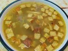 Zuppa di cipolle e salsiccia Agnonese