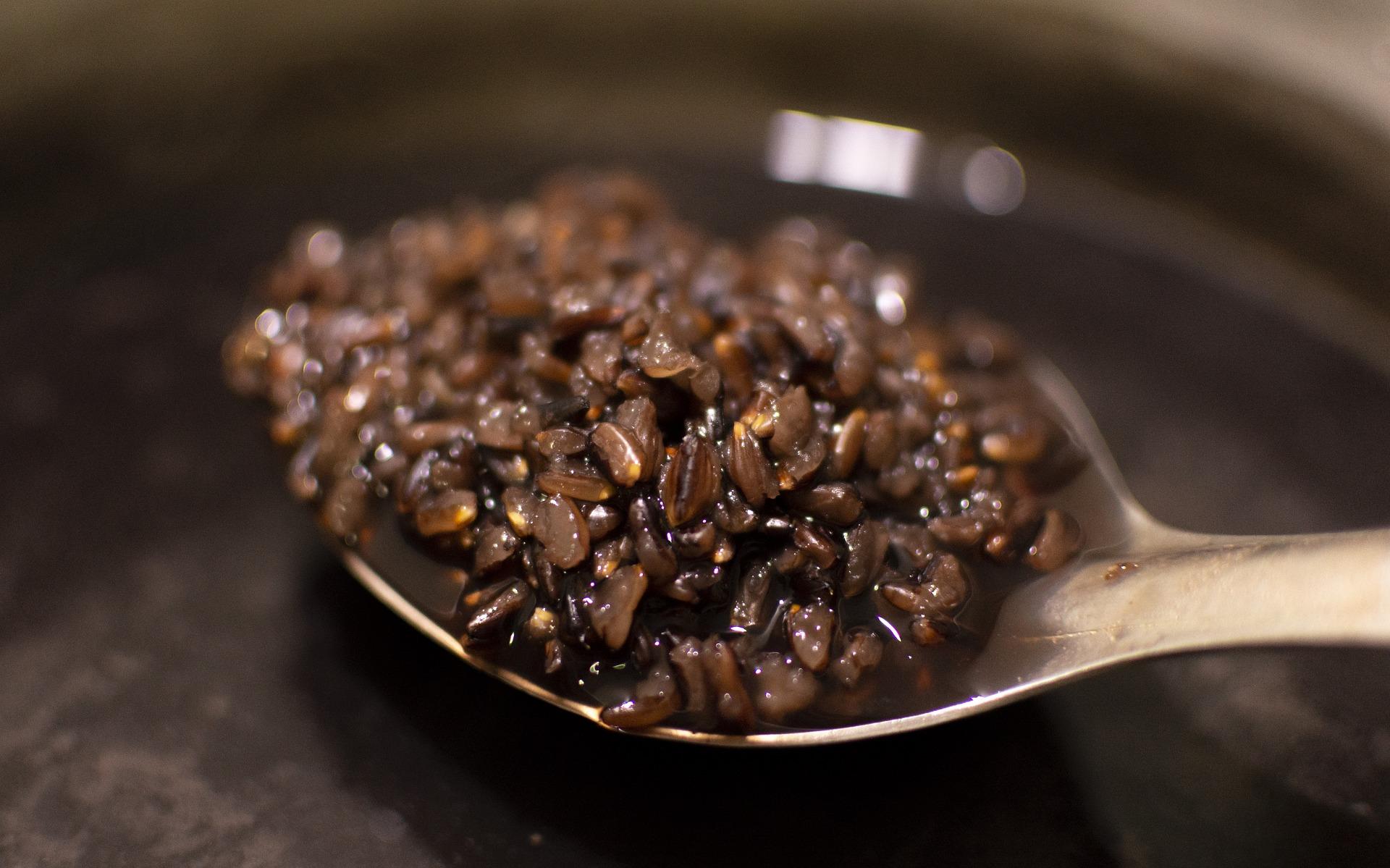 Timballini di riso bicolore con verdure