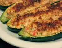 zucchine al forno ripiene vegetariane