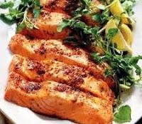 Salmone fresco alle erbe