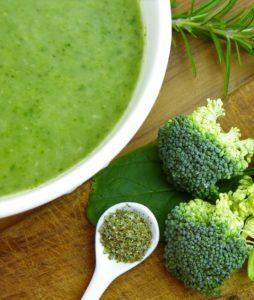 Crema di bottarga e broccoletti siciliani