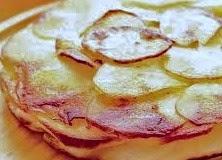 Torta salata patate e robiola