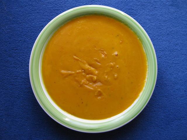 Crema vellutata di mais e zucca