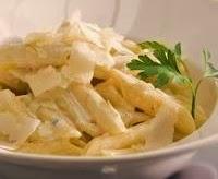 Ricette veloci Penne gorgonzola e pere